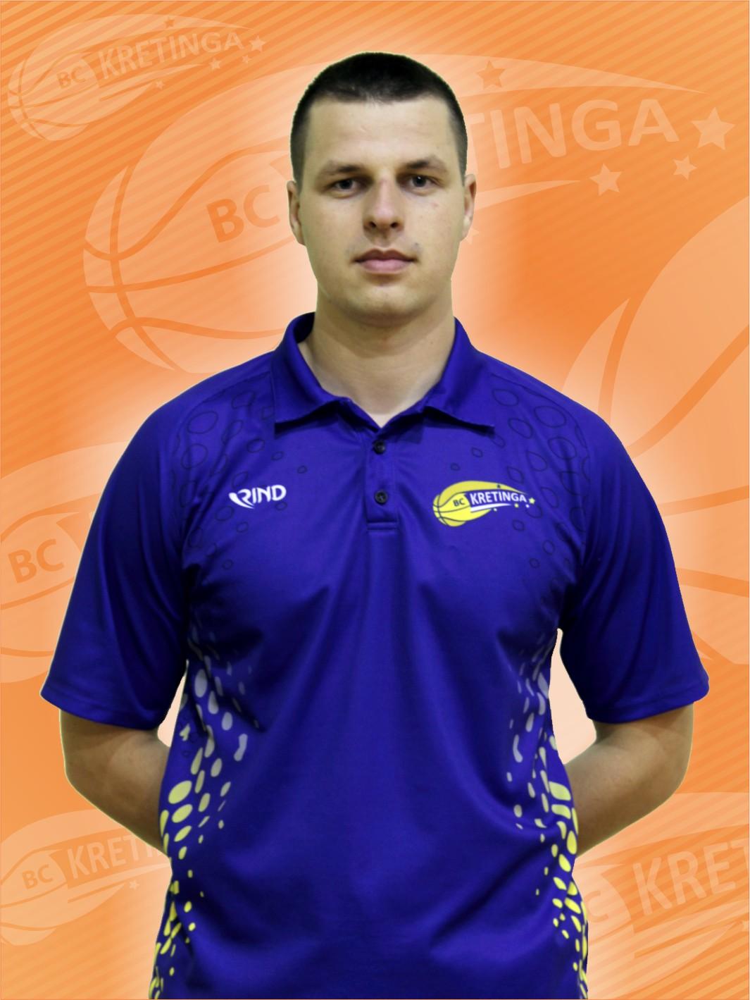 Komandos vyr. treneris Arimantas Mikaločius